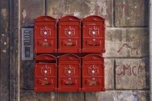 mailbox, rome, newspaper