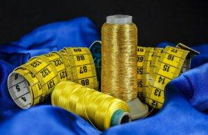 sewing, cotton, thread