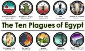 diez plagas de egipto